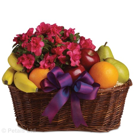 FRUIT AND FLOWERS ARRANGEMENT